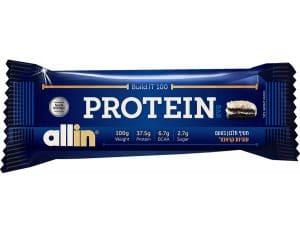 חטיף חלבון ALLIN 100 PROTEIN BAR