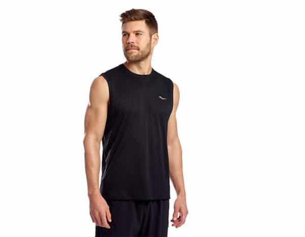 חולצת ללא שרוול SAUCONY STOPWATCH SLEEVELESS גברים