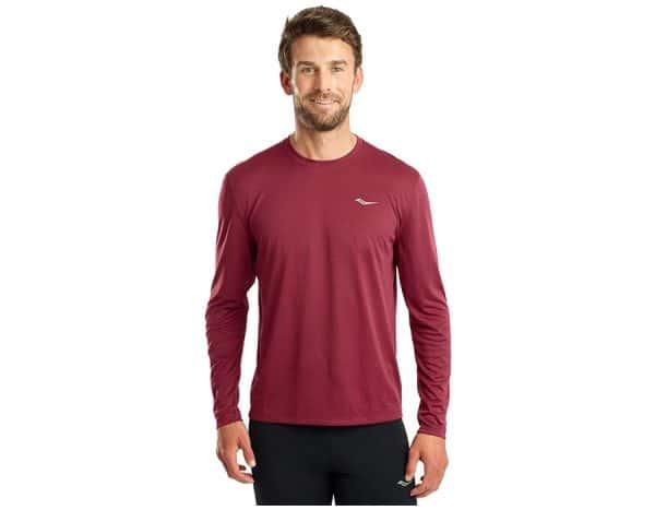 חולצת ריצה וספורט סוקוני SAUCONY STOPWATCH L.S גברים
